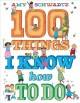 Go to record 100 things I know how to do